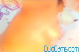 لاتينا كيمبر وودز يحصل لها الوردي لعبة مارس الجنس.